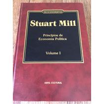 Livro Stuart Mill: Princípios De Economia Política Vol. 1
