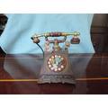 Caixa De Musica Telefone De Mesa. #4163