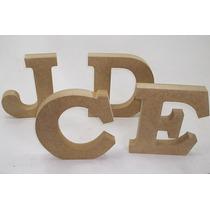 Letras Diversas Alfabeto 15cm Mdf 18mm - 23 Letras