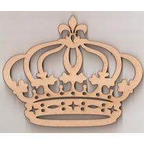 Coroa Princesa Flor Liz 60cm Mdf