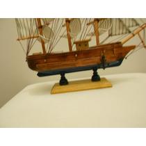 Incrivel Caravelas (barcos) A Vela Em Madeira Decorativas