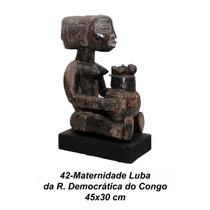 Peça Africana Maternidade Lupa Do Congo