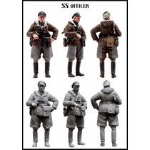 1:35 Segunda Guerra Mundial Oficial Alemão No Inverno