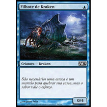 X4 Filhote De Kraken / Kraken Hatchling - Magic 2013