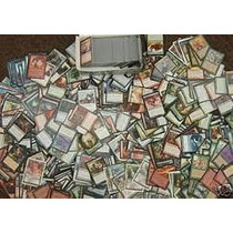 Lote De 500 Cartas Magic 25 Raras/100 Incomuns/ 375 Comuns