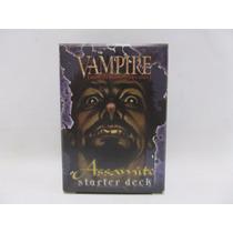 Cartas Vampire Vtes - Starter Deck Assamite Aberto
