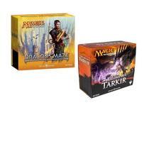 Combo Magicthe Gathering - Dragons: Maze E Tarkir (fat Pack)