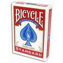 Baralho Bicycle Standard Rider Back Cor Vermelho