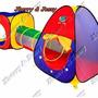 Toca Barraca Infantil 3 Em 1 Com Tunel -melhor Preço E Frete