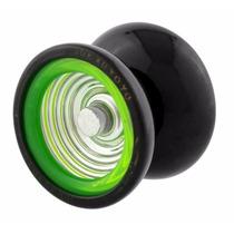 Yoyo Metal Pró - Black/green Profissional Rolamento