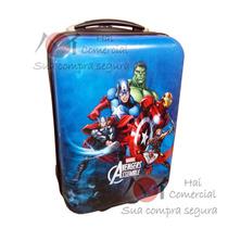 Mala Viagem Rigida Infantil, Vingadores The Avengers Marvel