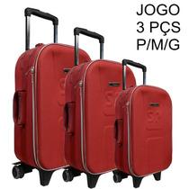 Mala De Viagem Com Segredo Jogo P/m/g Várias Cores - Promo