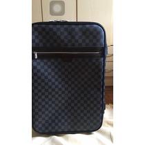 Mala L Vuitton Couro Original Pegase 55 P/ Voos Sedex Free!!