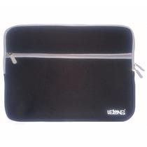Capa Case Notebook 14 Polegadas Neoprene Macio Com 2 Zíper