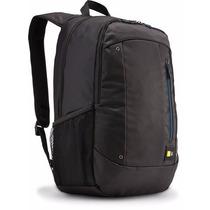 Mochila Para Notebook 15 Case Logic Wmbp-115-bk Preta Hp Mac