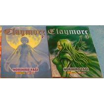 Mangá Claymore - Volumes 02 E 03 (preço Da Unidade!!)