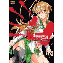High School Of The Dead Full Color - Combo 7 Volumes !!