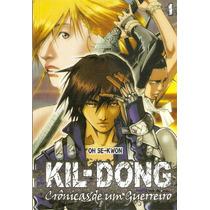 Mangá Kil-dong #1 - Naruto, Vagabond, Death Note, Inu-yasha