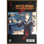 Battle Royale Nº 2 / Manga, Gibi, Quadrinho, Revista