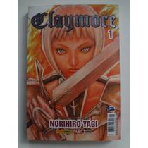 Mangá Claymore Nº 1 Norihiro Yagi