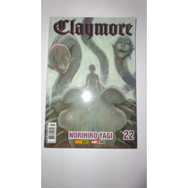 Mangá Claymore Volume 22 Da Editora Panini Comics