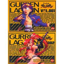 Mangá Gurren Lagann Vols. 1, 2, 3 E 4 Nova Sampa Novo
