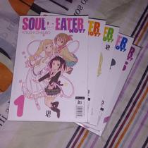 Mangá Soul Eater Not 1 Ao 5 Completo