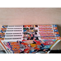 Mangás Raros Do Naruto / Livro Naruto 6 Unidades Diferentes