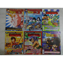 6 Revistas-pôster Oficiais Dragon Ball E Dragon Ball Z