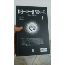 Mangá Death Note Black Edition #01