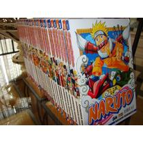 Manga Coleção Naruto 1 A 72 (40 Lacradas!)