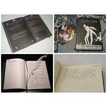 Kit Caderno Death Note + Caneta Pena De Shinigami + Cd