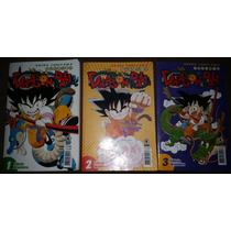 Mangá Dragon Ball Nº 1 Ao 3 Akira Toriyama Conrad Editora