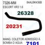 Mangueira Coletor A Bomba Dagua Escort Xr3 1.6