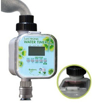 Novo Temporizador P/ Irrigação Automático Lcd - Painel Solar