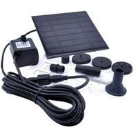 Painel Solar Com Bomba Dagua, Fonte Para Jardins, Lago. Etc
