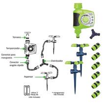 Kit Temporizador Eletrônico Pra Irrigação Gramado Jardim