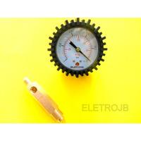 Vacuômetro Refrigeração E Ar Condicionado Suryha + Adaptador