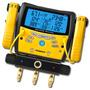 Manifold Digital 3 Portas Com Vacuômetro Fieldpiece Sman360