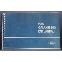 Manual Galaxie Ltd Landau - 1974 - Frete Grátis -