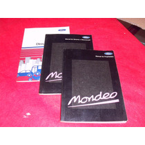 Mondeo Ford Manual Do Proprietario Original