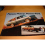 Folder Raro Ford Picape F-1000 87 1987 Super Serie