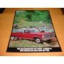 Folder Raro Ford Caminhonete F-100 76 1976 77 1977 4 Cil