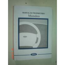 Manual Ford Mondeo 2000 Original Sedan Wagon 2.0 2.5 Duratec