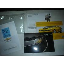 Novo Em Branco Manual Cruze 2014 Original Chevrolet Gm Ltz