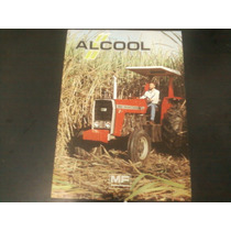 Brochura Original Trator Massey Ferguson 290/ 4 Alcool