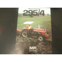 Brochura Original Trator Massey Ferguson 295/ 4