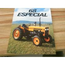 Brochura Original Trator Valmet 68 Especial 1987 Catálogo