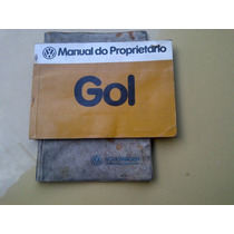 Manual Original Do Proprietário Do Vw Gol 1981/82 Com Capa