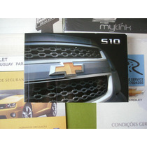 Manual Proprietário S10 2014 Chevrolet Em Branco Sem Preench